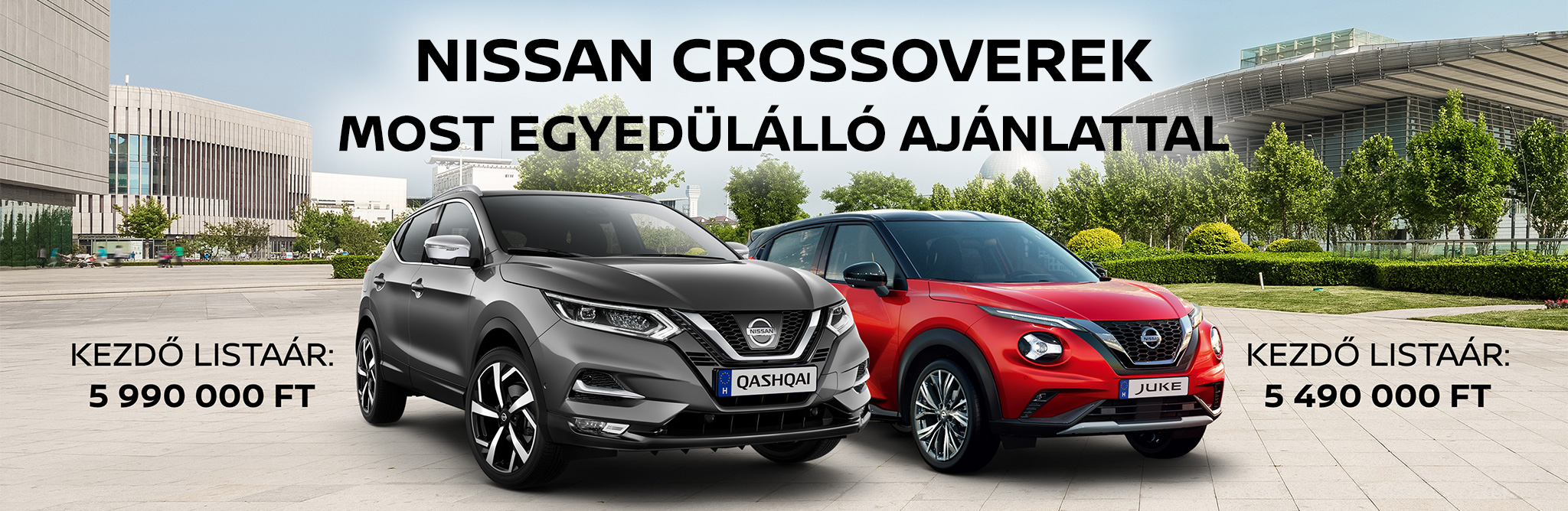 Nissan Crossoverek