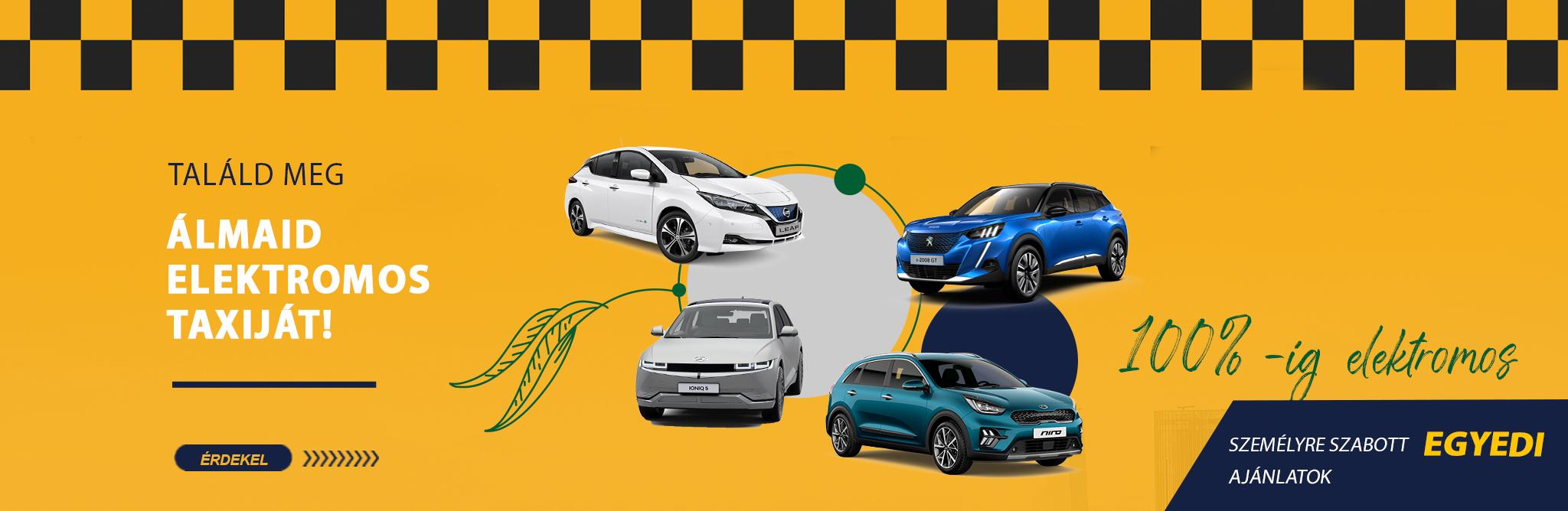 Elektromos Taxi támogatás