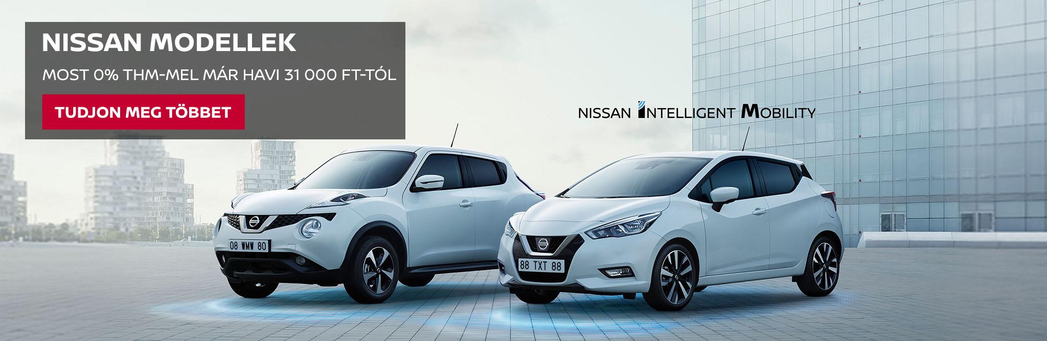 Nissan modellek (Juke, Micra)
