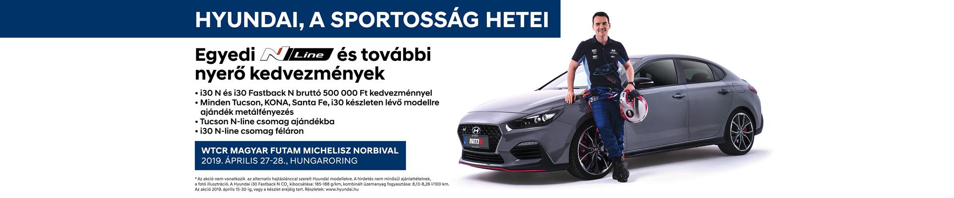 Hyundai a sportosság hetei