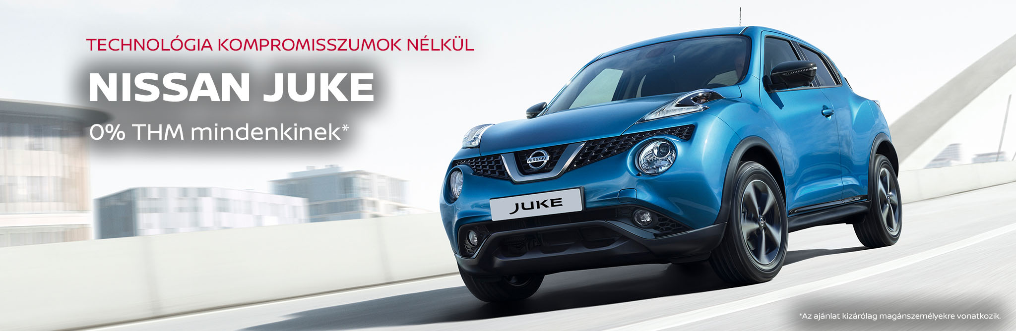 Nissan Juke 0% THM és ajándék automata váltó