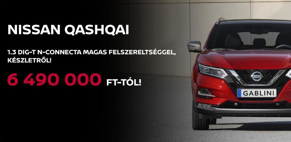 Nissan Qashqai készlet