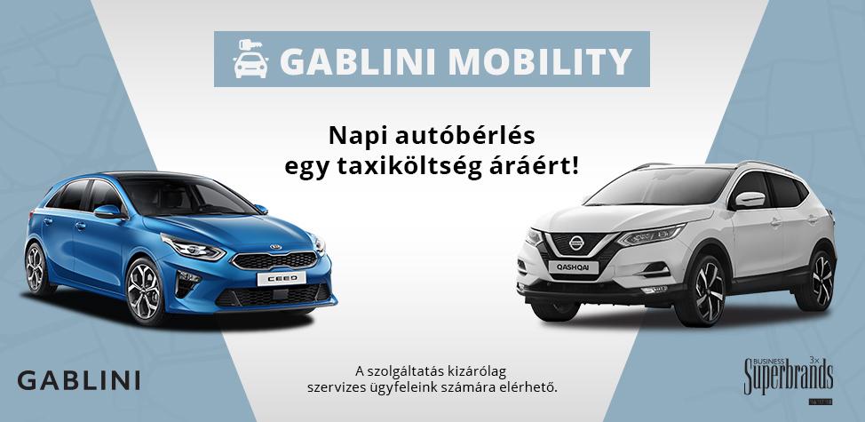 Gablini autóbérlés