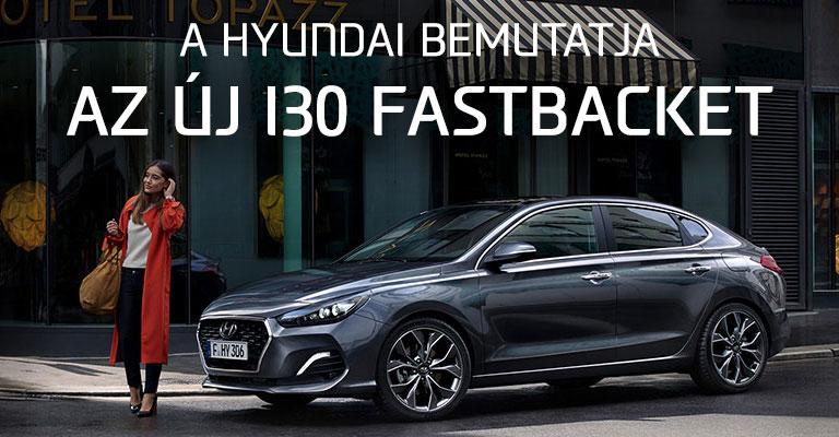 Az új i30 Fastback
