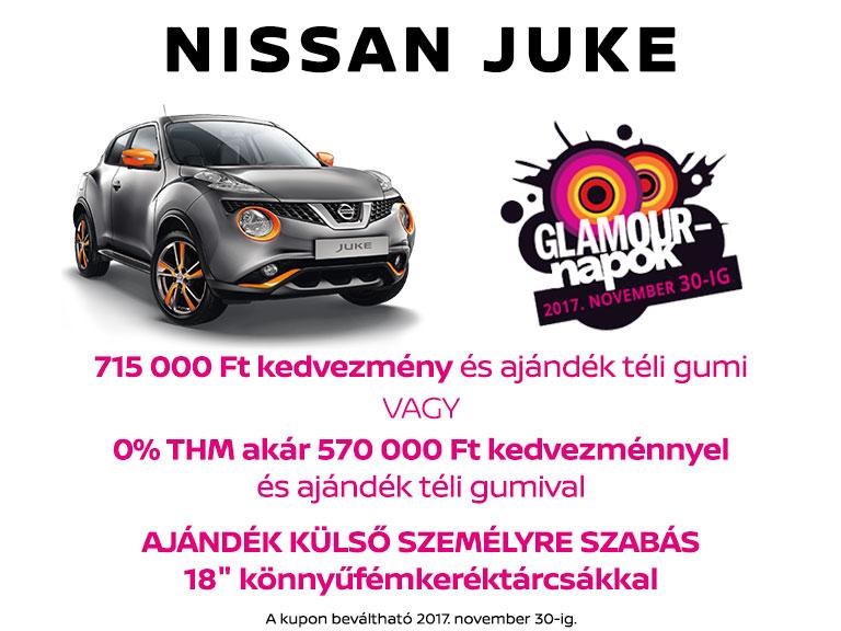 Glamour Napok 2017 - Nissan Juke