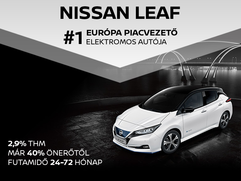 Nissan Leaf - 2,9% THM