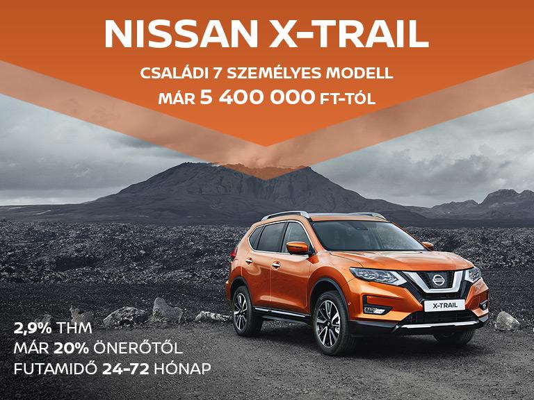 Nissan X-Trail 2,9% THM