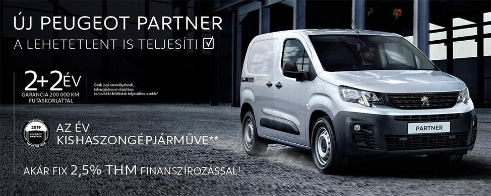 Új Peugeot Partner - A lehetetlent is teljesíti