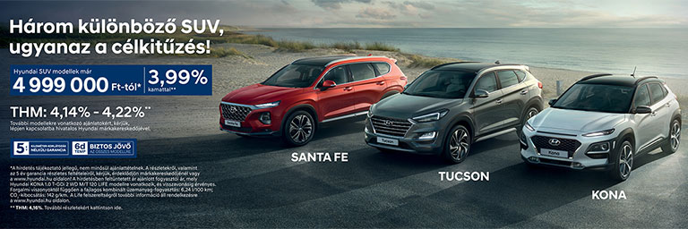SUV modellek