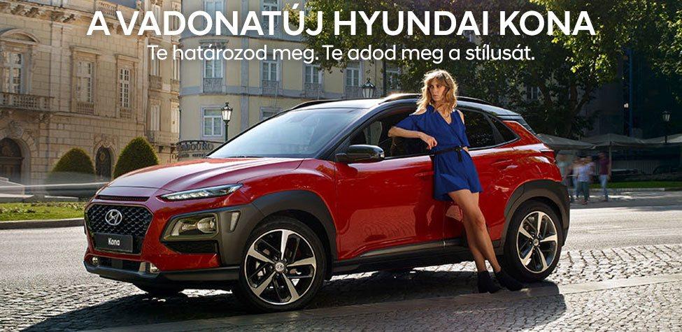 Vadonatúj Hyundai Kona