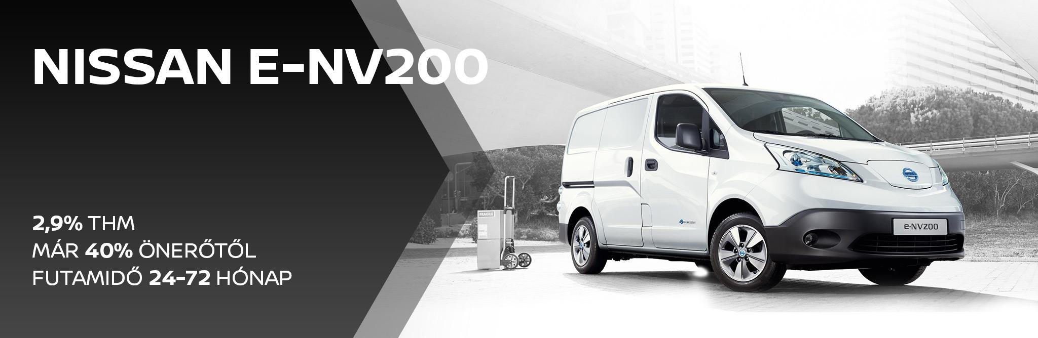 Nissan e-NV200 2,9% THM