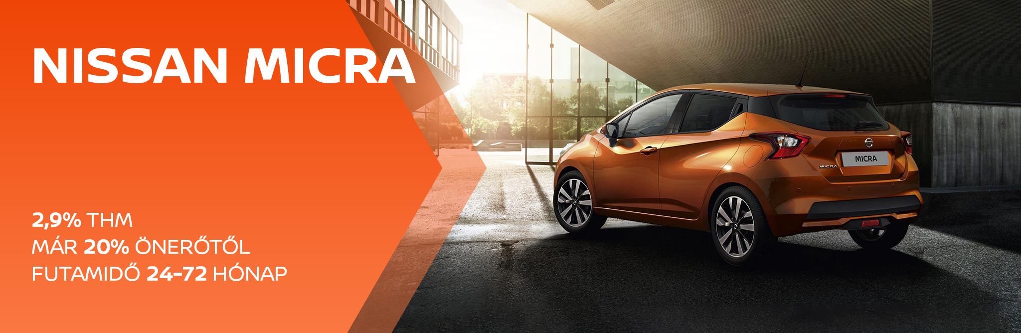 Nissan Micra 2,9% THM