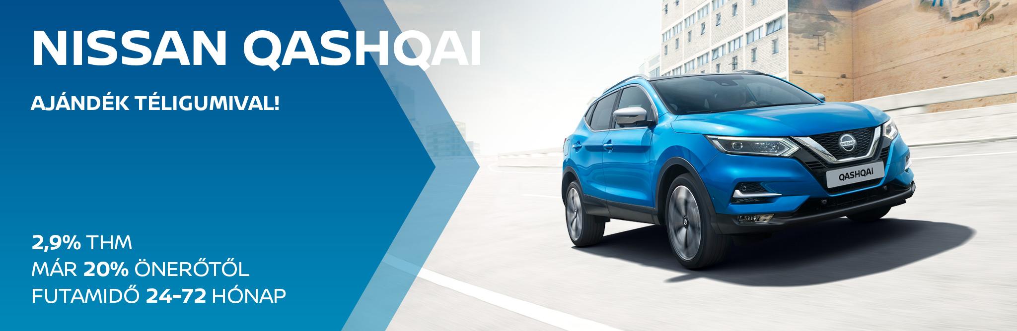 Nissan Qashqai 2,9% THM