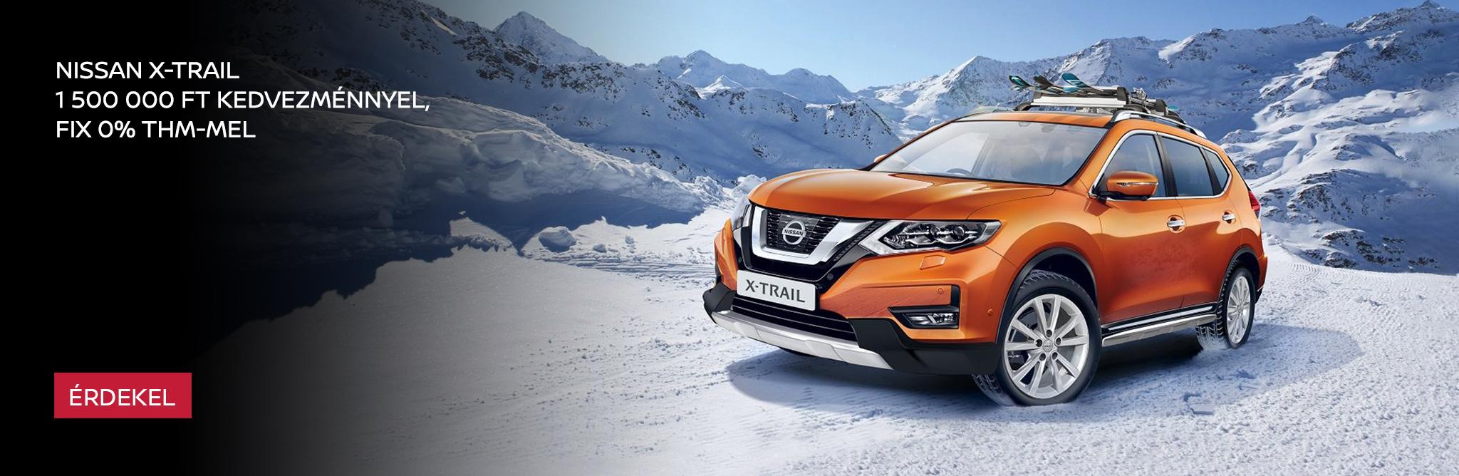 Az év Nissan X-Trail ajánlata