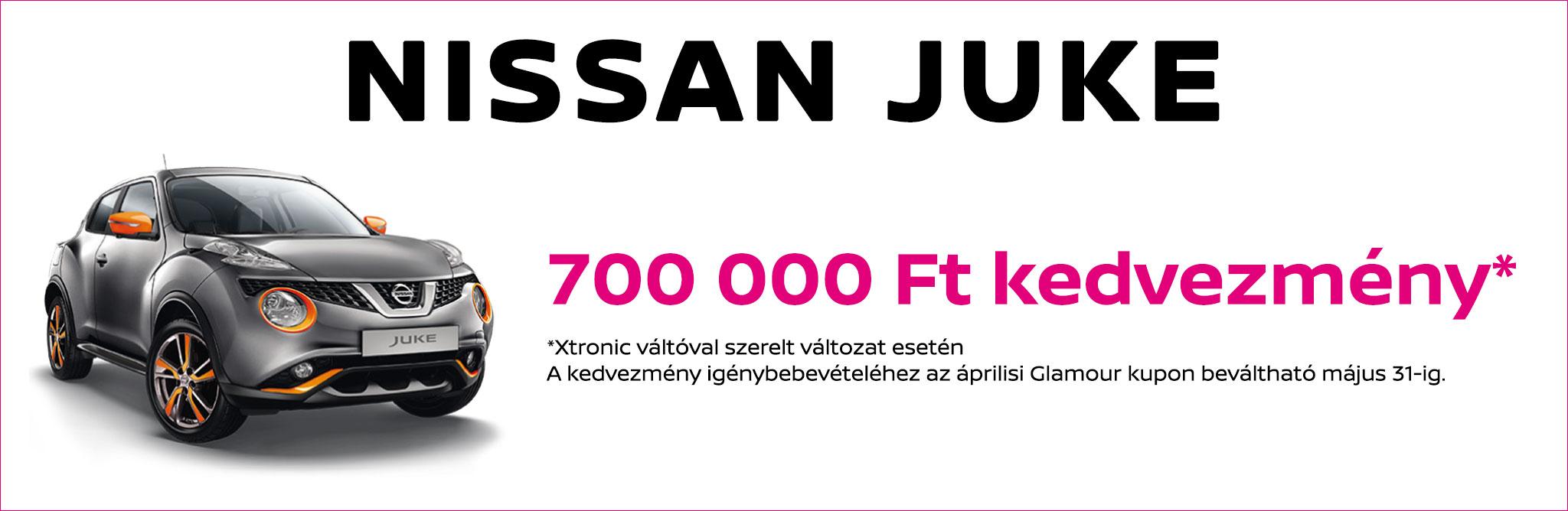 Nissan Juke Glamour kupon