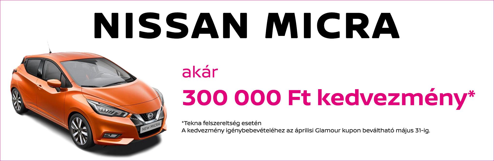 Nissan Micra Glamour kupon