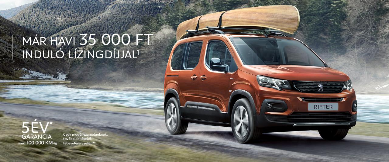 Új Peugeot Rifter