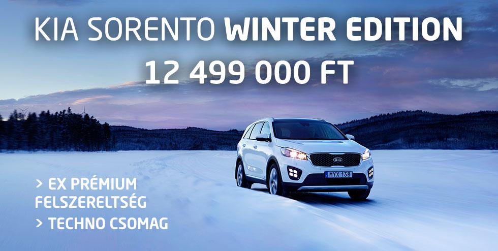 Kia Sorento Winter Edition - 12 499 000 Ft