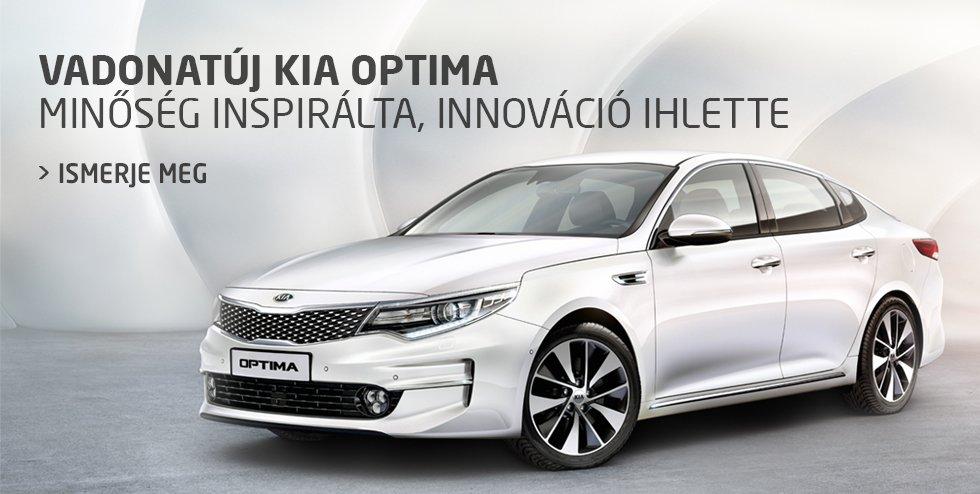 Vadonatúj Kia Optima - Minőség inspirálta, innováció ihlette