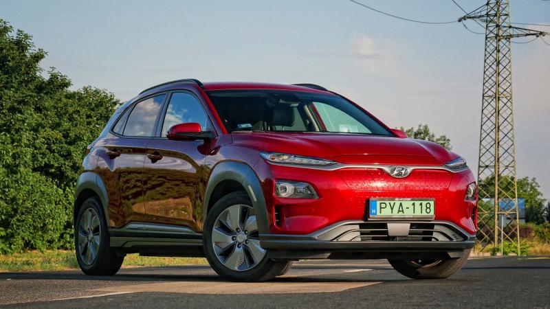 Hyundai Kona Electric teszt - Kompromisszummentes felvillanyozódás