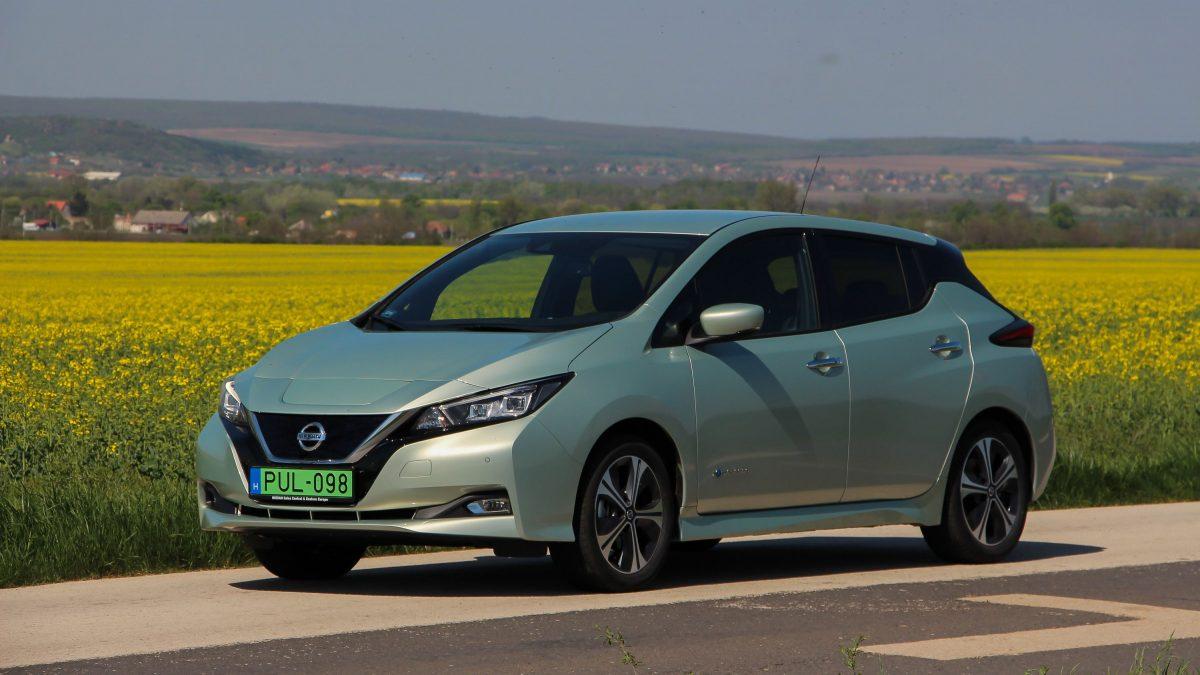 Méltó utód? Nissan Leaf 2.0 teszt