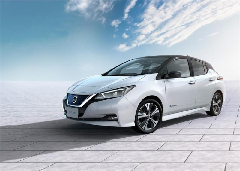 Az új Nissan LEAF megnyerte első nemzetközi díját