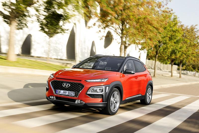 Hyundai Merész dizájnnal hódít a Hyundai Kona