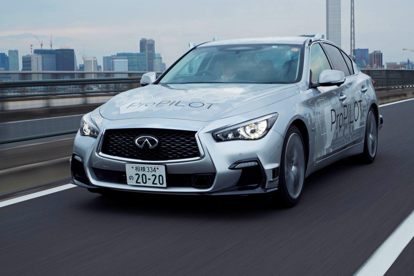 Elkészült a teljesen önjáró Nissan – a bevetésre még három évet várni kell
