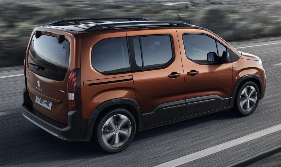 Peugeot Rifter: már nem Partner