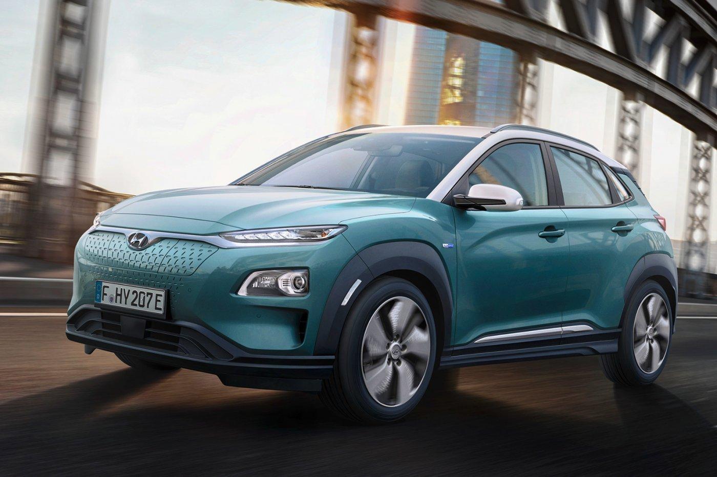 Két változatban jön az elektromos Hyundai Kona kompakt szabadidő-autó