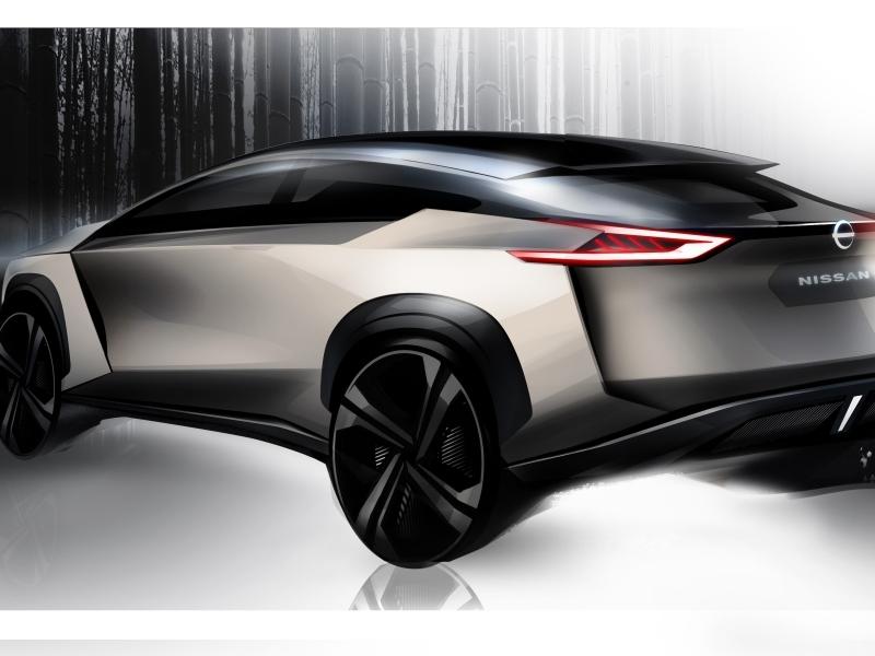 Lerántotta a leplet új elektromos crossover tanulmányáról a Nissan