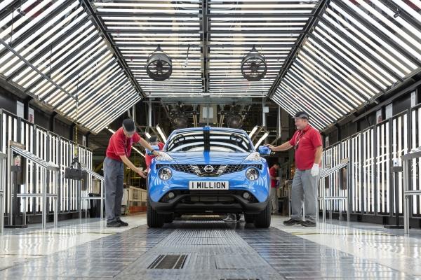 Elkészült az egymilliomodik Nissan Juke