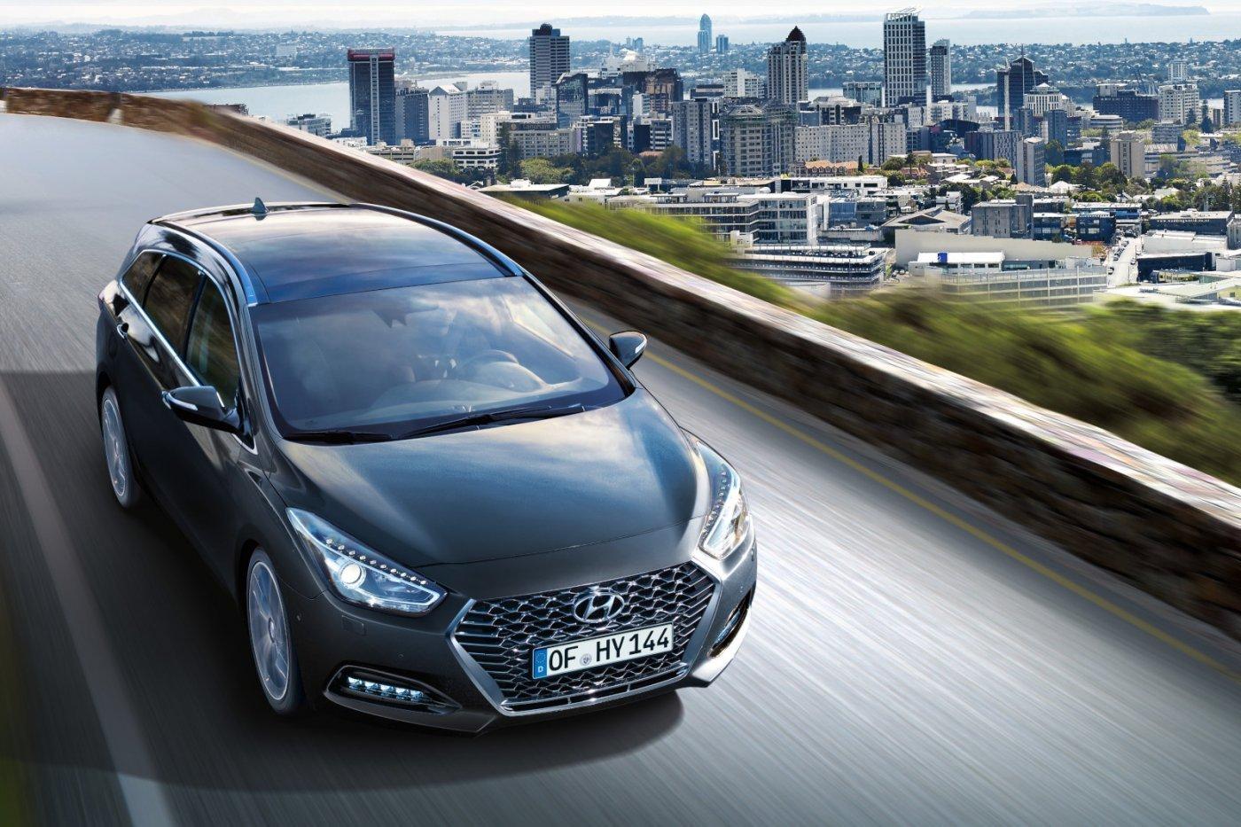 Megérkezett Európába a frissített Hyundai i40