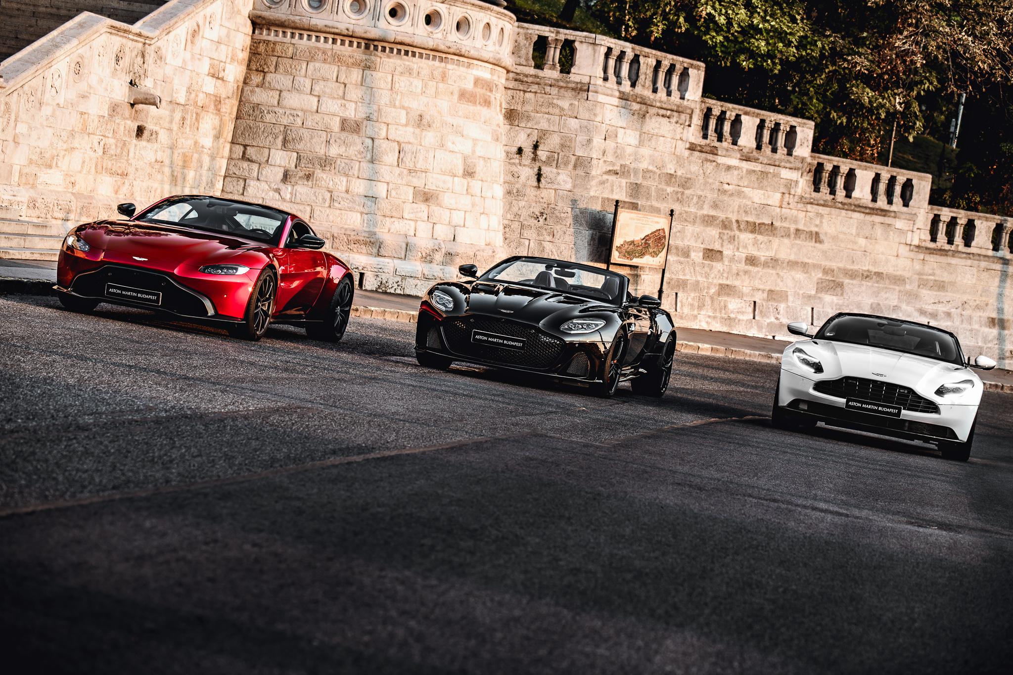 Aston Martin modellek először Budapest aszfaltján