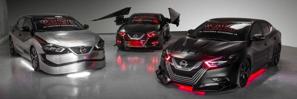 Csillagok háborúja témájú autók a Nissantól