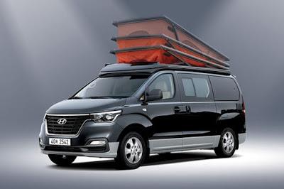 Lakóautó és luxusbusz is készült az új Hyundai kisbuszból