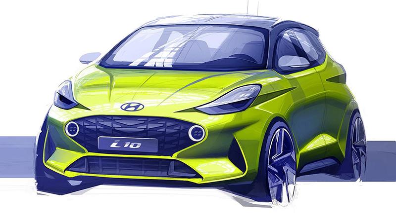 Szeptemberben debütál a vadonatúj Hyundai i10 – így fog kinézni a kisautó