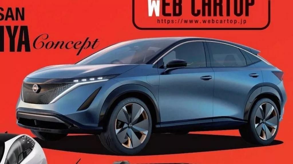 Új tisztán elektromos Nissan Crossover közeleg