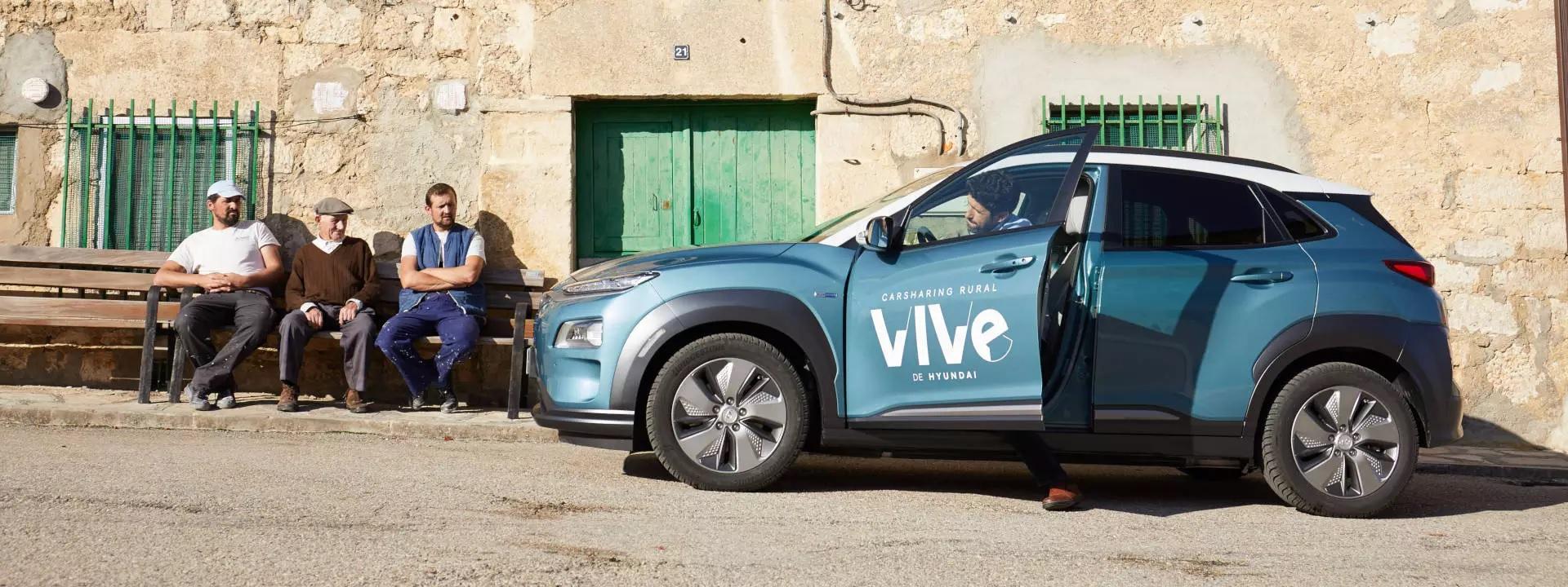 Vidéken indított elektromos autómegosztót a Hyundai