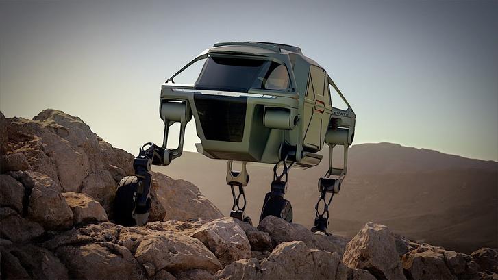 Hyundai Elevate: gurul, sétál, hegyet mászik