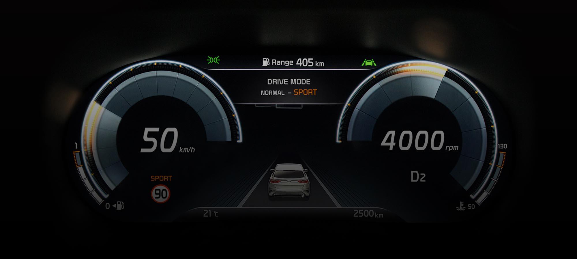 Digitális műszeregységet kapnak a Kia következő autói
