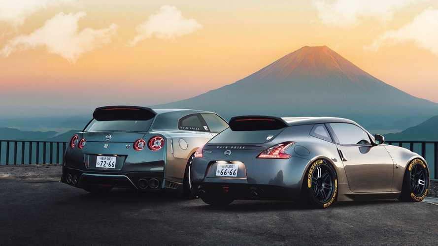 Shooting brake-ként születik újjá a Nissan 350Z és a GT-R - renderképeken