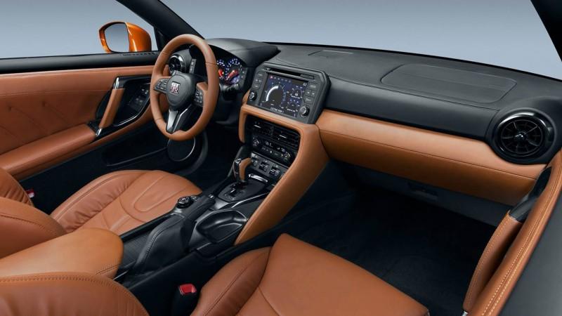Nissan GT-R 2017 Belső 3.