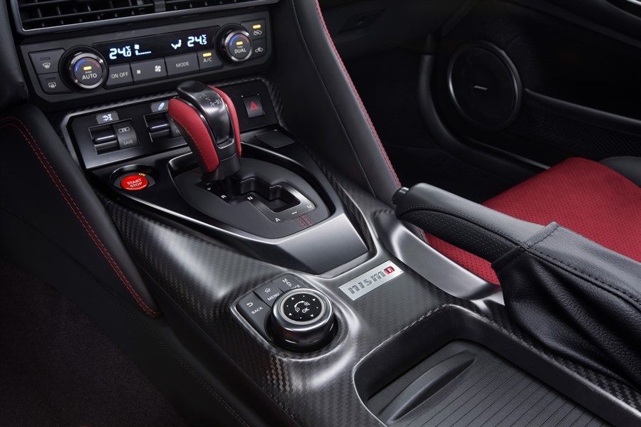 Nissan GT-R Nismo Belső 4.