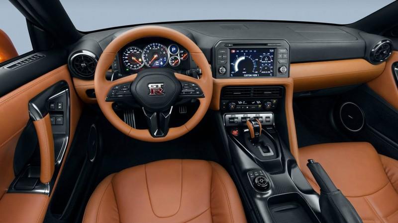 Nissan GT-R 2017 Belső 1.