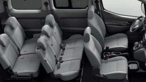 Nissan e-NV200 Evalia Belső 3.