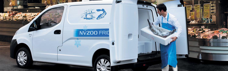 Nissan NV200 Hűtős